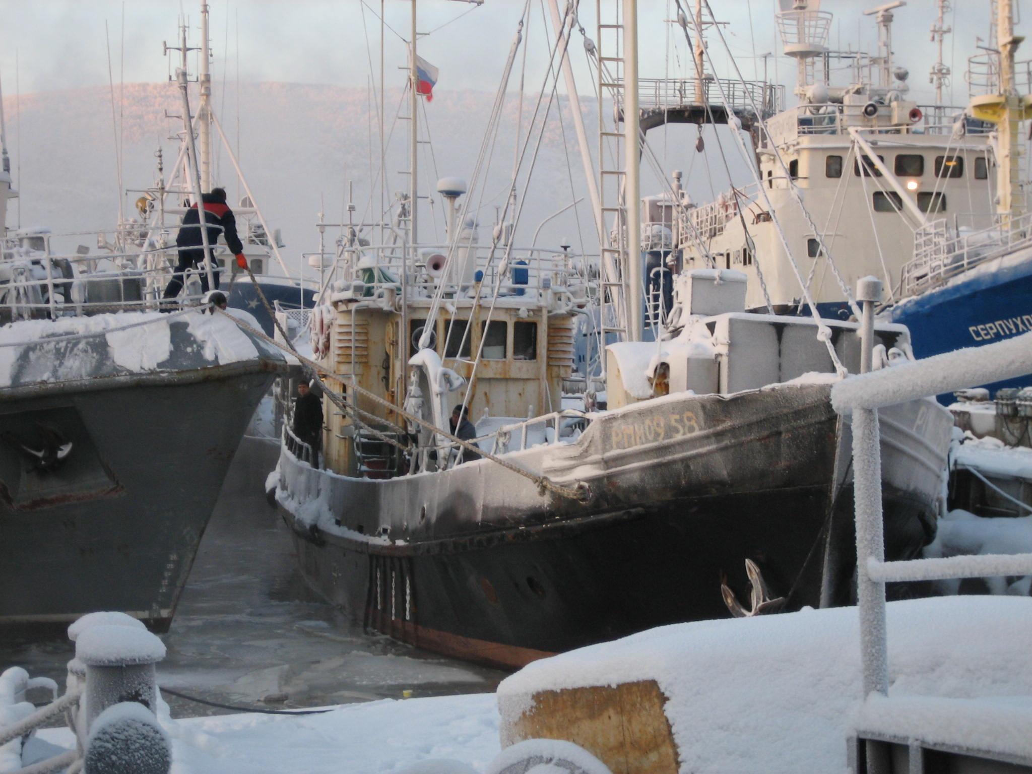 схема тралового флота батм 116трал