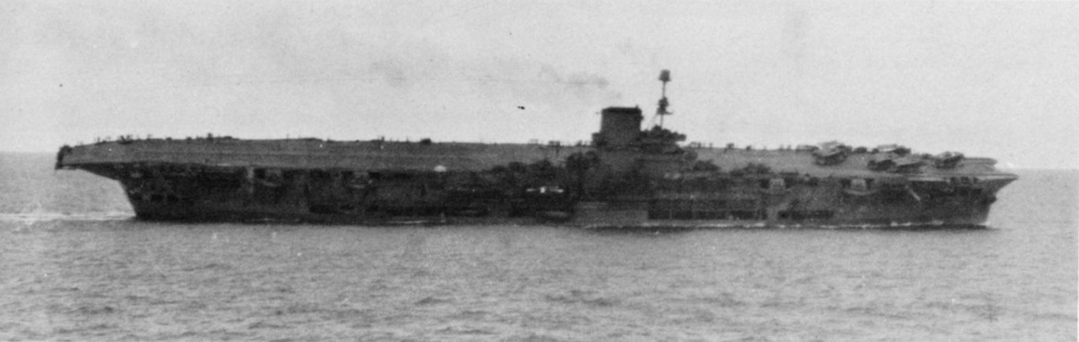 Ark Royal torpedoed & listing 13.11.41.JPG