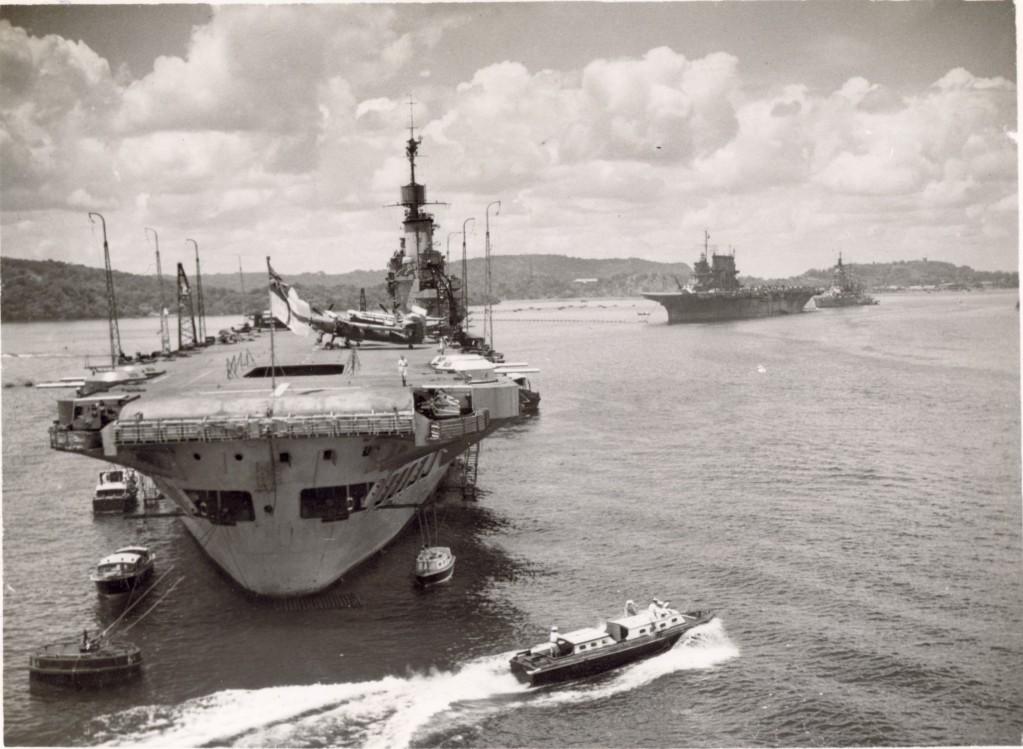 HMS Illustrious and USS Saratoga Trincomalee 1944.jpg