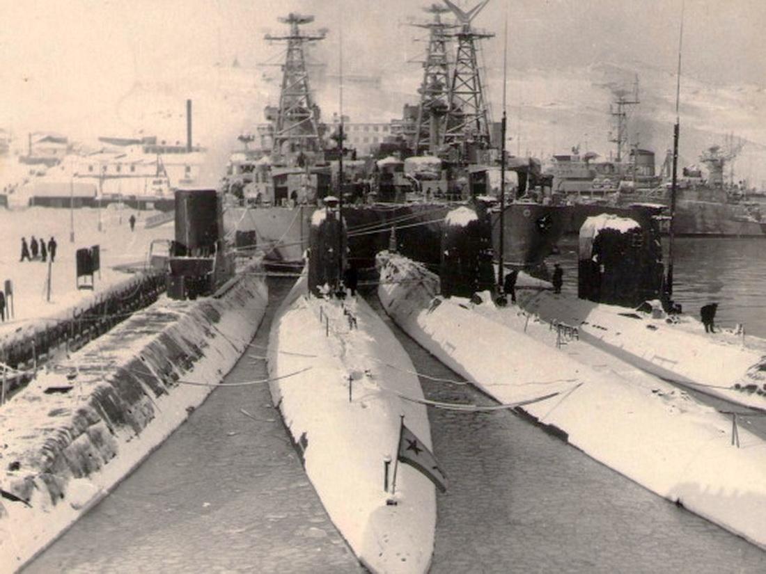 полярный 4 эскадра подводных лодок полярный