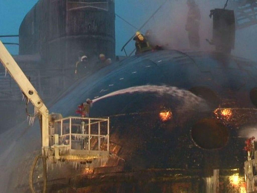 аварии с атомными подводными лодками