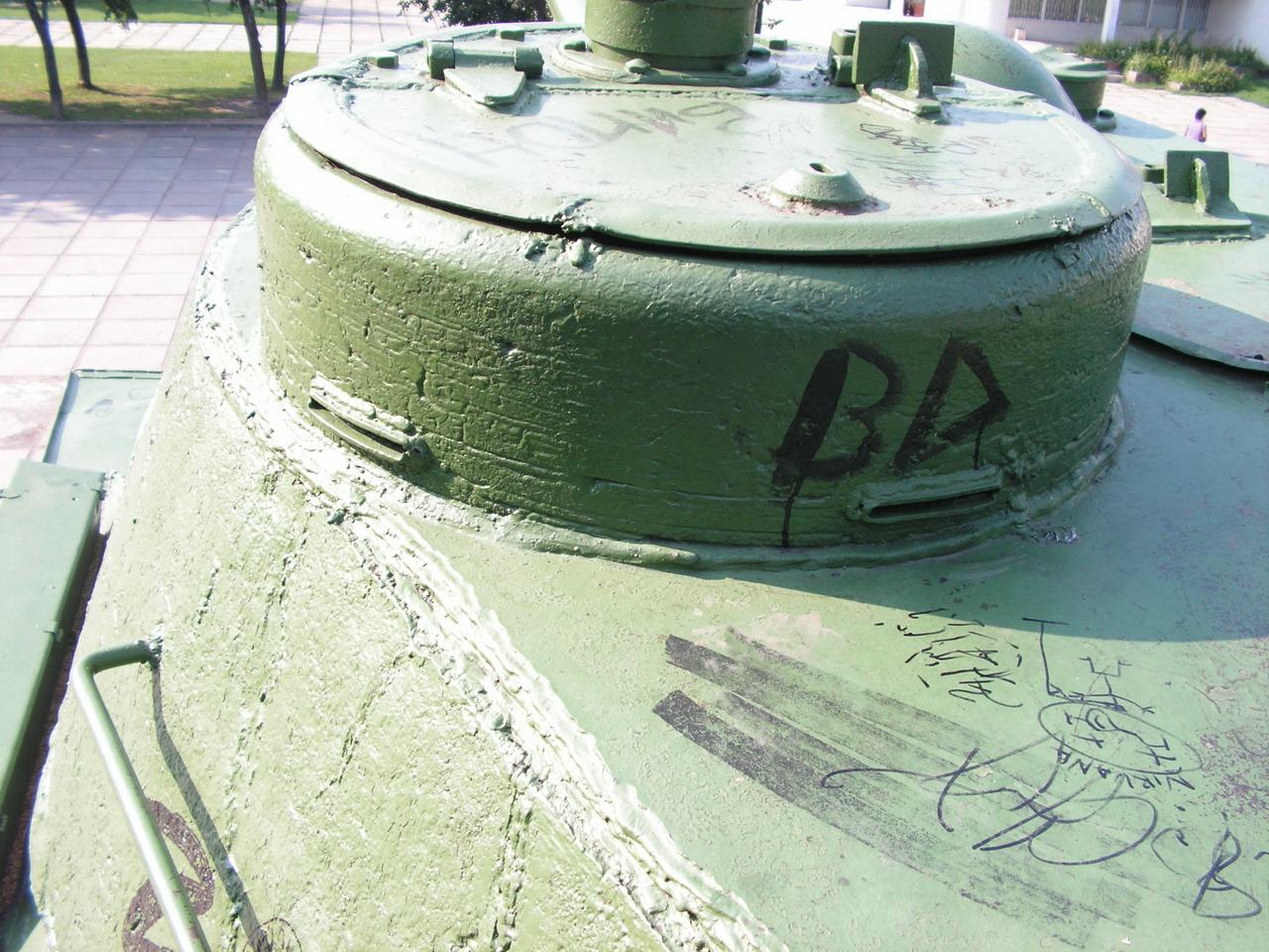 Т-34-85 (Минск, военный городок Уручье, памятник около Дома Офицеров)_11.JPG