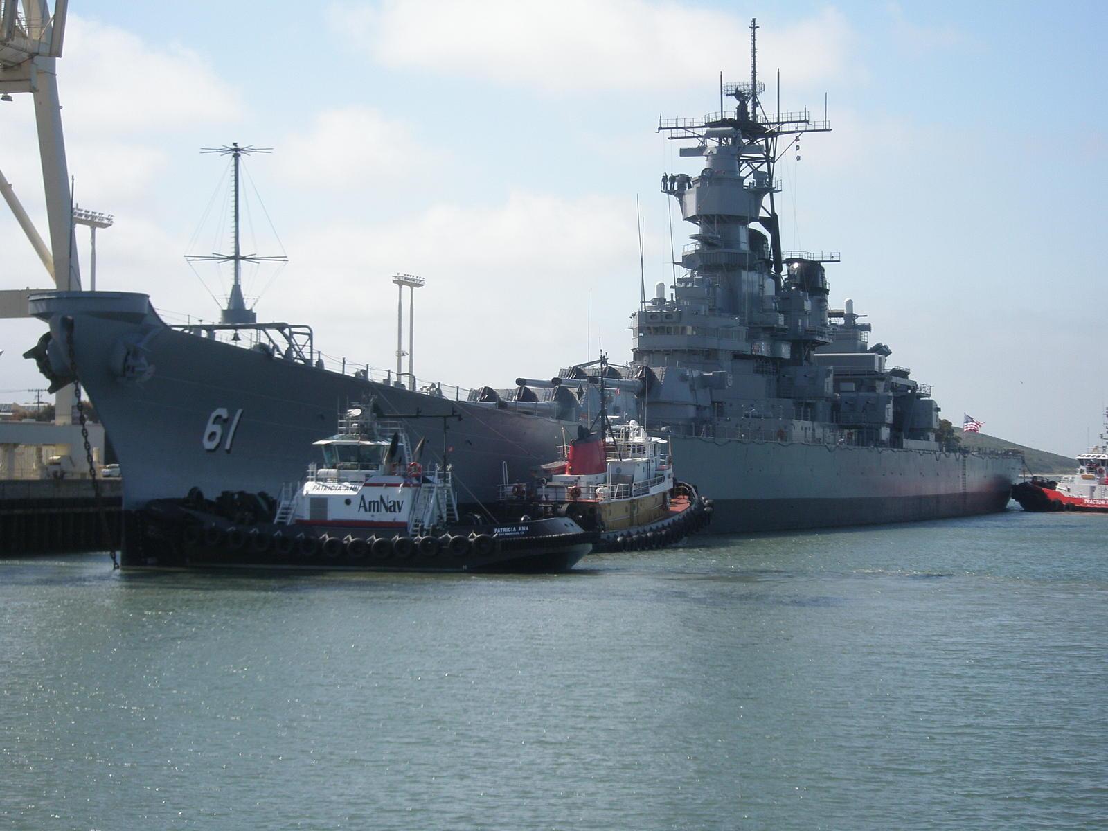 USS Iowa (BB-61) going to LA - photo Tim Brown - 2.jpg