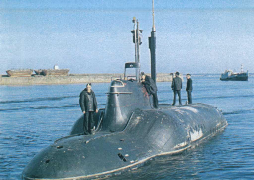 подводных лодок проекта пиранья