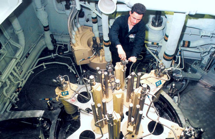 силовая установка атомной подводной лодки