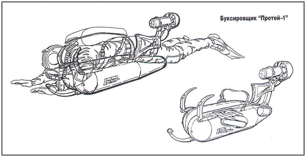 Подводный буксировщик своими руками чертежи