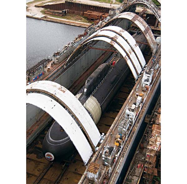 архитектура подводных лодок