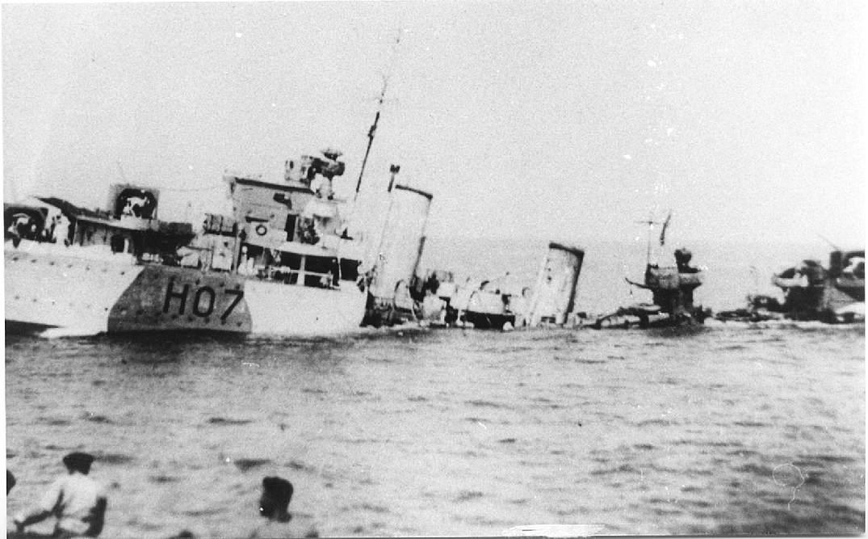 Defender sinking.jpg