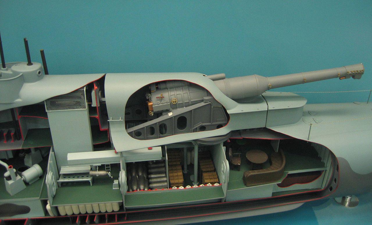 HMS_M1_submarine_model_turret.jpg