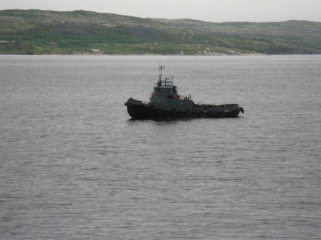 морской буксир схема