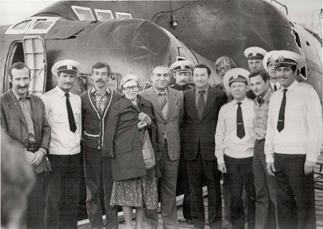 Приезд гостей на С- 152, лето 1980 года.jpg