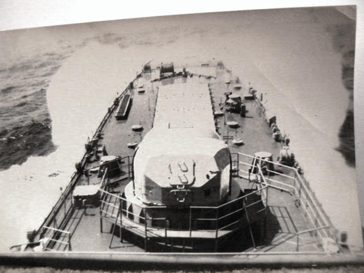 1978 год. Бискайский залив. автор Александр Воробьев.JPG