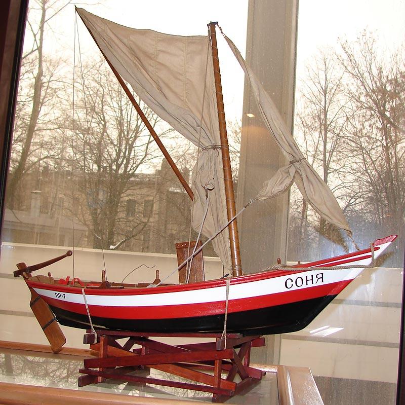 парусная лодка шаланда