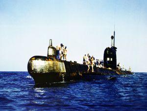 срочное погружение подводной лодки