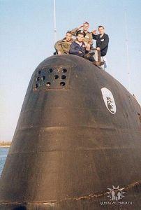 командир подводной лодки пантера