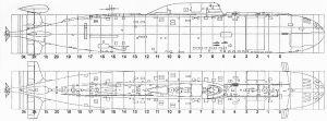 чертежи подводных лодок для моделирования с размерами