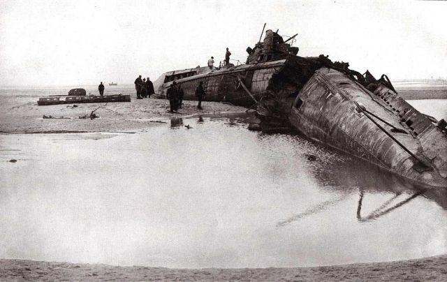 лодки во время воины