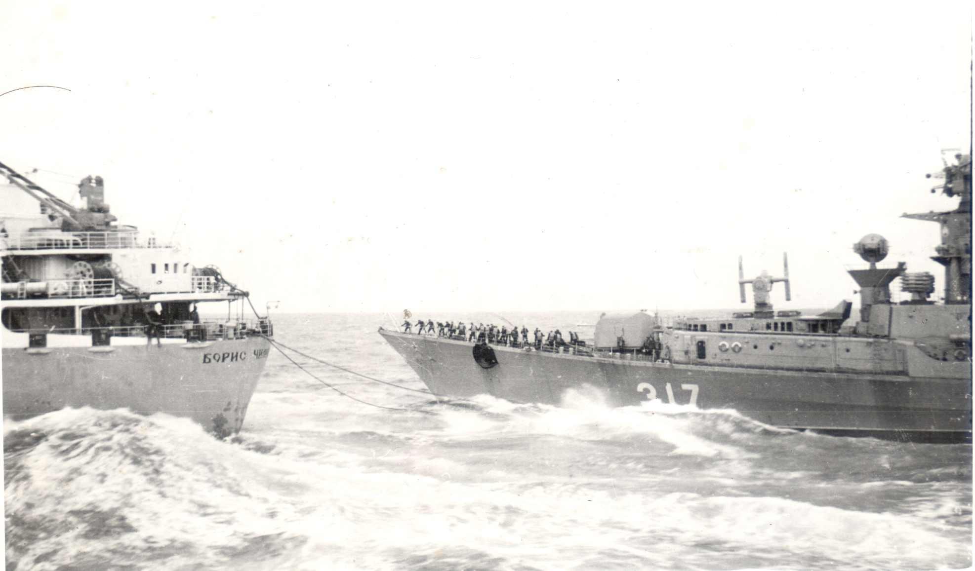 Фото экипажа танкера борис чиликин