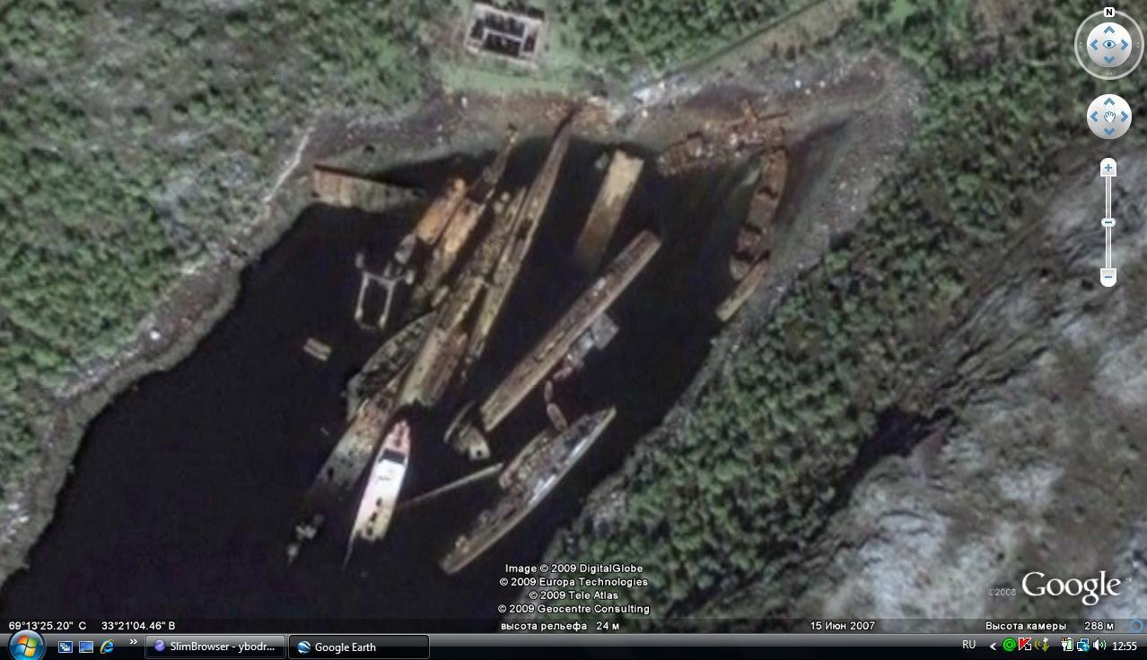окрестности базы в Полярном. вход в бухту малый Кут..jpg