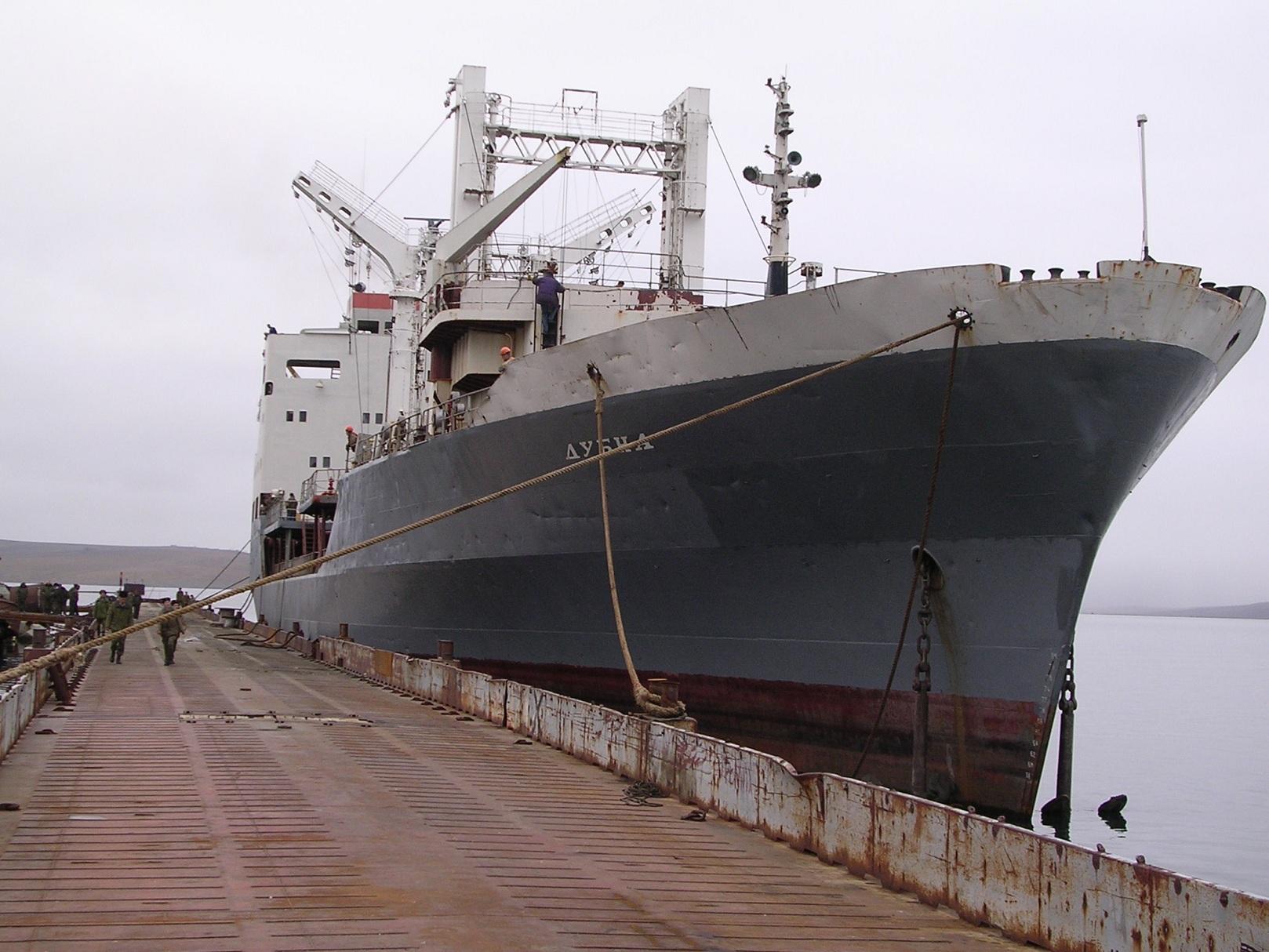 Суда Северного флота «Алтай» и «Дубна» возвращаются на домой
